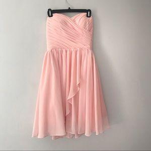Dresses & Skirts - NWOT Bridesmaid sweetheart neckline cascade skirt